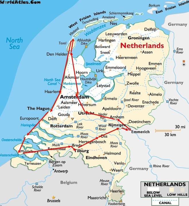 Holland Grenze Geschlossen